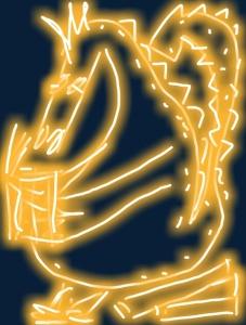 golden dragon reading book